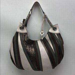 Fossil Fiftyfour Leather Hobo Multi shoulder Bag